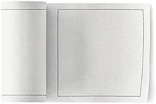 Linen Cocktail Napkin - 4.3 x 4.3 in - 50 units per roll - Cream