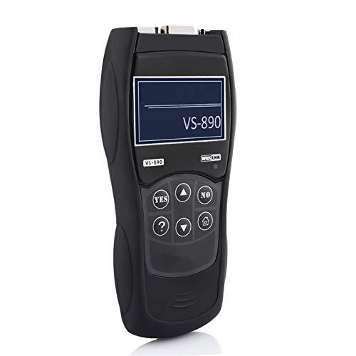 ETXP Automotor OBD2 Scanner VS890 OBD 2 Escáner automotriz Herramienta de diagnóstico automotriz ODB2 Auto Diagnostic Scanner Lector de códigos Herramienta de escaneo de diagnóstico del vehículo
