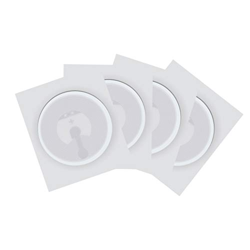 jiaxing Etiqueta NFC Tags Etiqueta NTAG 213 Etiqueta NFC Etiquetas Adhesivas Redondas NFC Etiqueta IC 25 mm Redondo 144 Bytes de Memoria Etiquetas NFC compatibles con Todos los teléfonos NFC.11PCS
