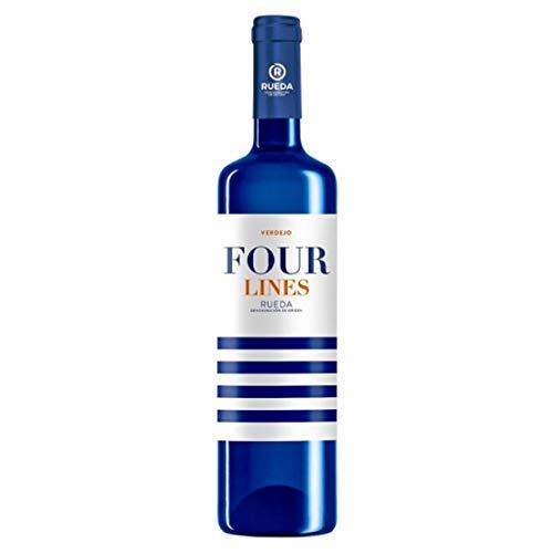 Verdejo Four Lines - Vino, 750 ml, 1 unidad