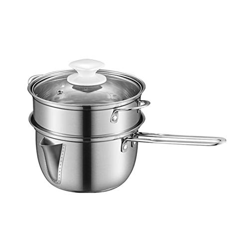 Stainless Steel Soup Oil Fat Separator Oil Soup Strainer Bowl with Handle Oiler Filter Pot Cooking Strainer Filter