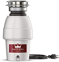 Waste King Legend Series 1/2 HP Professional 3-Bolt Mount Sound Insulated Garbage Disposer