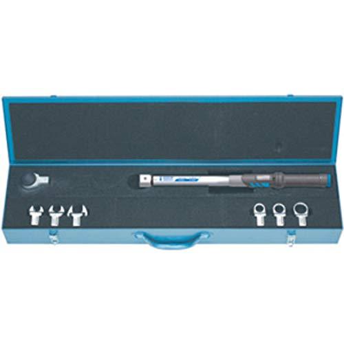 Gedore, llaves dinamométricas surtidas, composición de llave dinamométrica con inserciones y trinquetes en caja metálica.