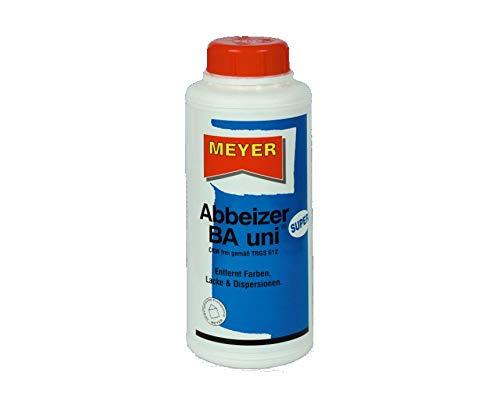 wasseremulgierbares Abbeizmittel 0,75 Liter, biologisch abbaubar Lackentferner Farbentferner Entlacker Abbeizer GEL inkl. Pinsel von E-Com24 (Abbeizer BA Uni Super)