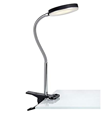 Mark Slöjd 106471 Lampe à pince métal, Integrated, argent