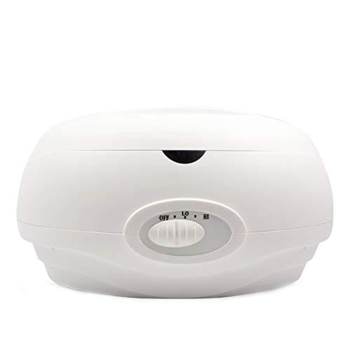Bains de parafina – Calentador de cera eléctrico para baño de parafina, baño de cera de gran capacidad, 1 litro para manos y pies, baño de parafina, máquina de cera 200 W (blanco)