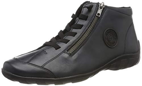 Remonte Damen R3491 Hohe Sneaker, Blau (Lake 14), 40 EU