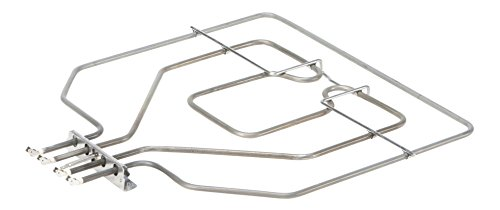 DREHFLEX–Calor Superior/calefacción/Resistencia–Para Diversos Modelos de Bosch/Siemens/Neff/Constructa Manada/del Horno–Apto para piezas de nº 00470845/470845–e.g.o 20.41384.000= 2041384000