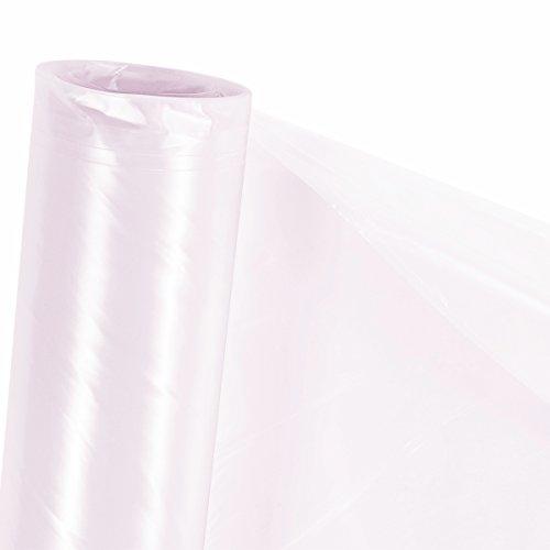 Zill UV5 Treibhausfolie - Transparente PE Folie - Gewächshausfolie - Für Ihr Garten Gewächshaus - 4m (Meterware)