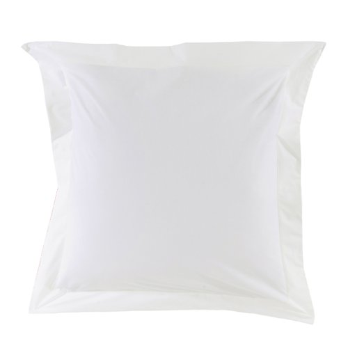 Essix Home Collection - Funda para Almohada, 65 x 65 cm, Color Blanco