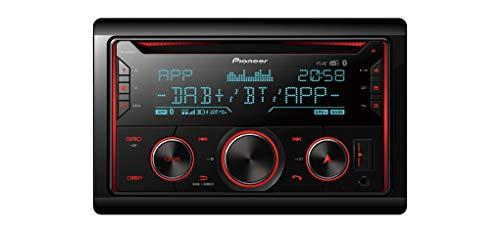 Pioneer FH-S820DAB 2DIN CD-Autoradio mit DAB+, Bluetooth Freisprecheinrichtung, Front AUX & USB Anschluss