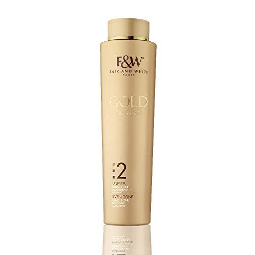 Fair & White Gold 2 Maxi Tone Body Lotion - Lightening & Rejuvenating with 1.9% Hydroquinone, 350ml / 11.8fl.oz.