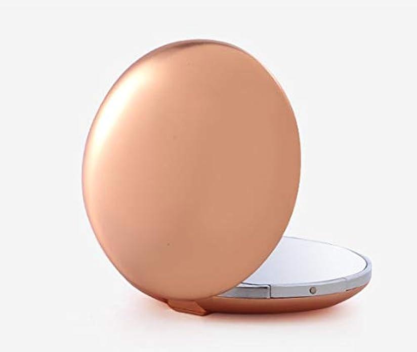 必要ない矛盾デンプシー化粧鏡、ゴールド亜鉛合金テクスチャアップグレード化粧鏡化粧鏡化粧ギフト