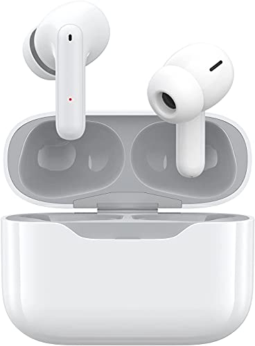 Wireless Earbuds 4 Mics Call Noise Canceling Bluetooth Headphones with...