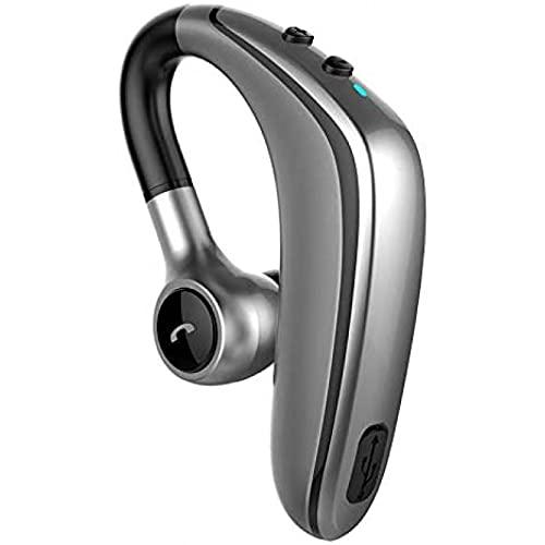 LDJ YL6S inalámbrico earhook bluetooth coche auricular manos libres control de volumen deportes reducción de ruido auriculares (B)