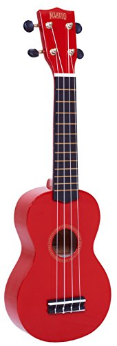 Mahalo MR1RD - Ukelele Soprano, color rojo