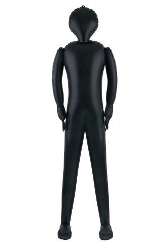 Seasons Full Size Inflatable Body, Black, Standard