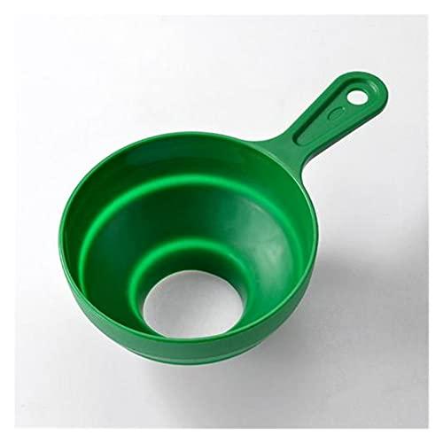 PJRYC PC 1 Funnel de Silicona Accesorio de Cocina Accesorio para el hogar Dispensación de líquidos Herramientas de Cocina Inicio Vino Drenaje Oleo Líquido Diversión Embudo (Color : 04)