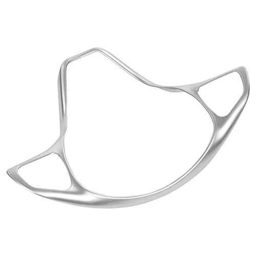 Cubierta De Ajuste De Marco De Botón De Volante De Coche Cromado Plateado para Benz Vito W447 2014 2015 2016 2017 Accesorios De Coche De Estilo De Coche Molduras