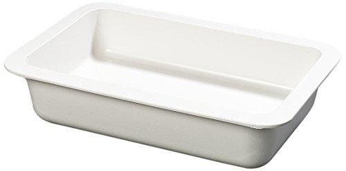 "Carlisle CM104002 Coldmaster Full-Size Insulated Cold Pan Holder, 15.9 Quart Capacity, 4"" Deep, White"