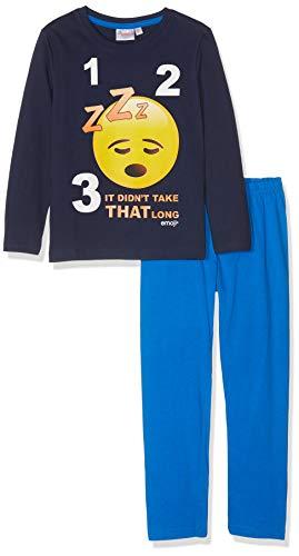 Emoji 2375 Pijama, Azul (Bleu Marine Bleu Marine), 6 años para Niños