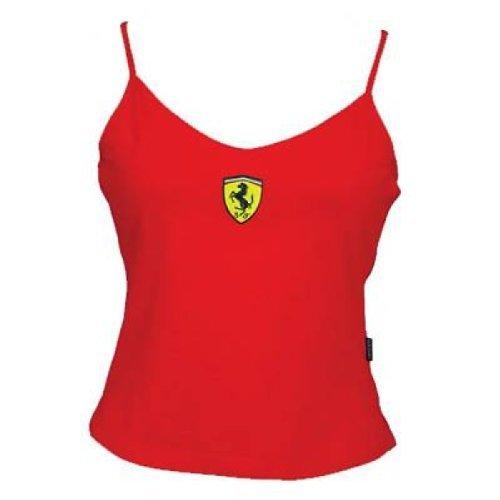 Scudetto Ferrari reloj de mujer con esfera de baño de mujer roja grande de chaleco para botella de agua V
