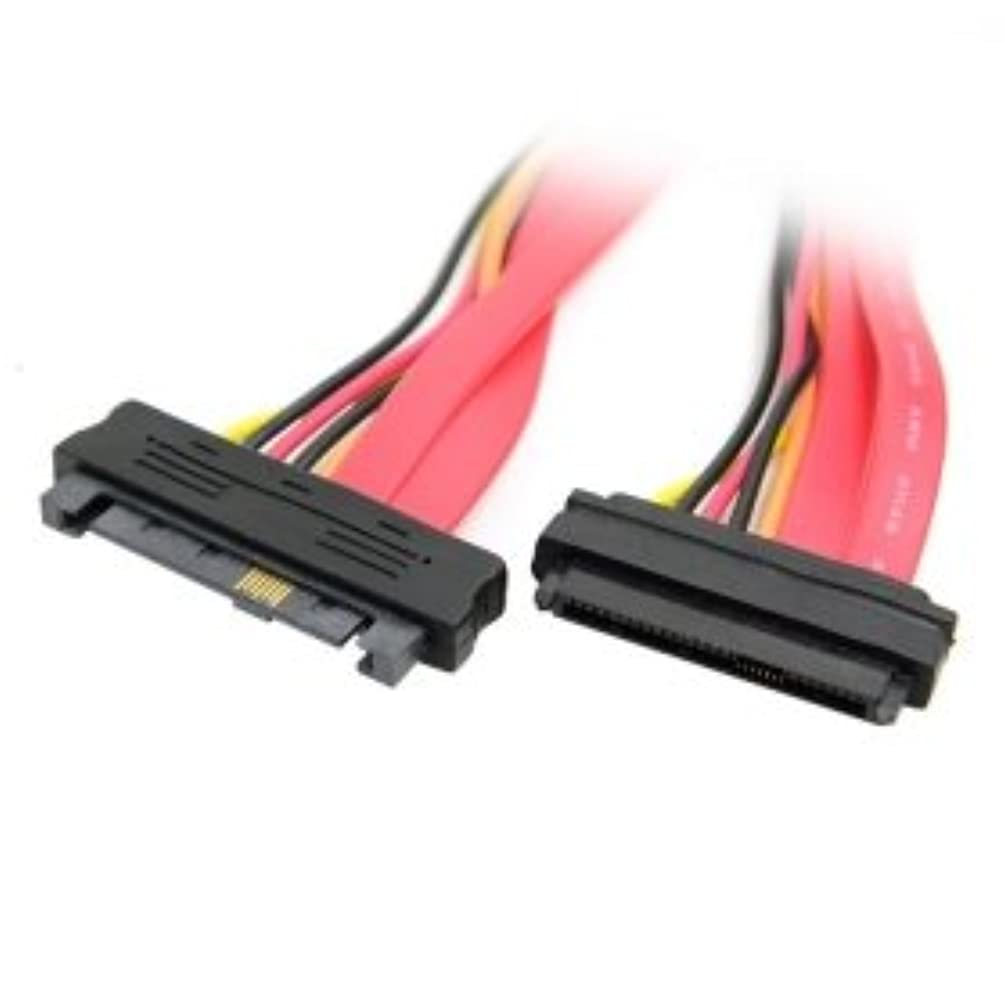 CY SAS Hard Disk Drive SFF-8482 SAS Cable 29Pin Male to Female Extension Cable 0.5m