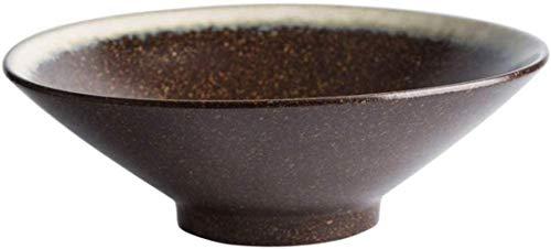 xmwm Ramen-Schüssel Getreidespeicher Salatschüssel mit großer Kapazität Keramikschale Getreidespeicher, einfache Haus Eiscremenachtisch Schüssel Suppe Tisch