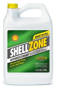 ShellZone Pre-Diluted 50/50 Antifreeze/Engine Coolant Formulated for Stringent Corrosion Protection (1 U.S. GAL/3.785L) - JUG