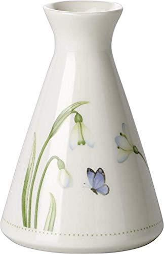 Villeroy und Boch Colourful Spring Vase, 12 x 13 cm, Porzellan, Weiß/Bunt