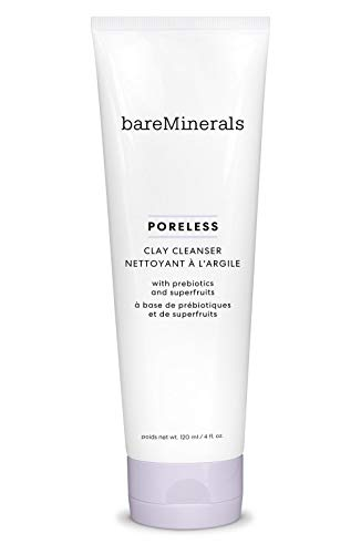 bareMinerals Poreless Clay Cleanser Facial Pore Cleanser, 4 Ounce, Multi