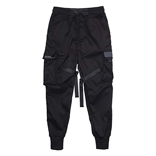 E6PHOMME® Combat Cargo Jogginghose West Jogger Hose YZY Supreme Kanye TECHWEAR Calabasas Army (S)