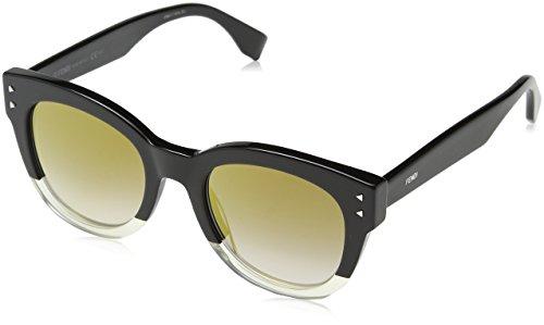 Fendi Fendi Sun FF 0239/S 71C/FQ -50 -21 -145 Fendi Wayfarer Sonnenbrille 50, Black