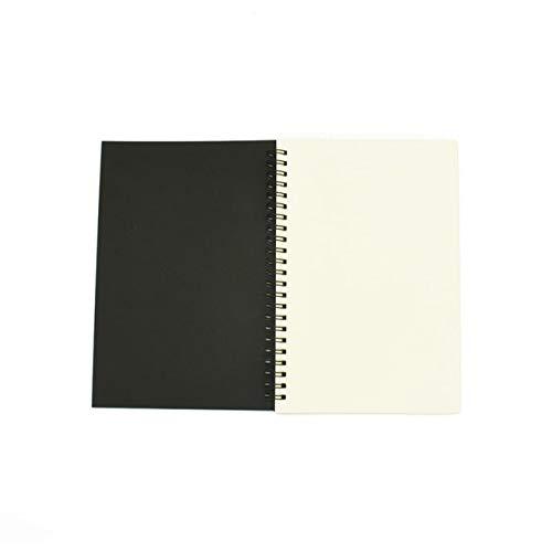NC56 Notebook Spiral Sketchbook Graffiti Notebook Für Schulbedarf Größe A5&a6 100 Seiten Kraft Papier Abdeckung Notebook Leere Seite