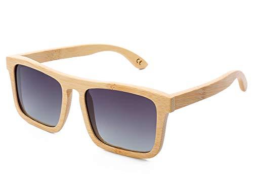 Bambus-Sonnenbrille für Herren