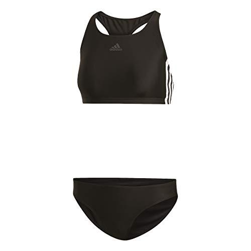 adidas Damen FIT 2PC 3S Badeanzug , Schwarz(black) , 38