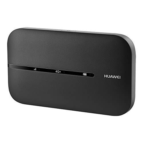 HUAWEI E5783B Wi-Fi Mobile 4G LTE CAT6, Hotspot, Download fino a 300 Mbps, Batteria Ricaricabile 1500 mAG, Dual-Band, Nessuna Configurazione Richiesta, Portatile per il Viaggio o il Lavoro, Nero