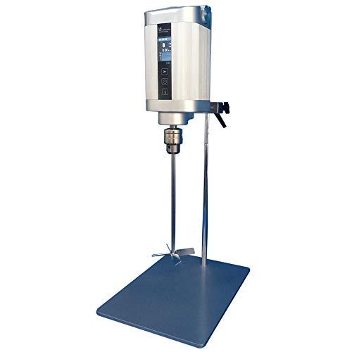 MXBAOHENG Mezclador eléctrico digital para agitador de laboratorio, potente batidora con torque grande 200 N.cm 100 L 130000mpa.s