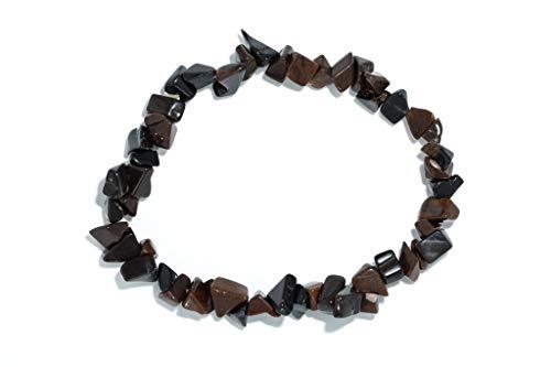 Taddart Minerals Obsidian Mahagoni Splitter Armband