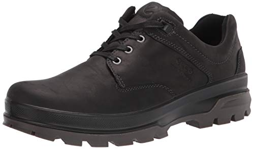 ECCO Men's Rugged Track Low Hydromax Hiking Shoe, Black, 12 M US
