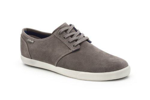 Clarks Herren Torbay Lace Low-Top, Grau (Dark Grey SDE), 42 EU