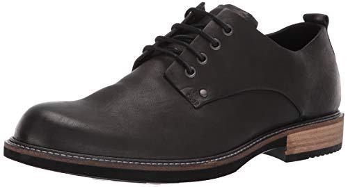 ECCO mens Ecco Men's Kenton Plain Toe Tie Oxford, Black Artisan, 7-7.5 US