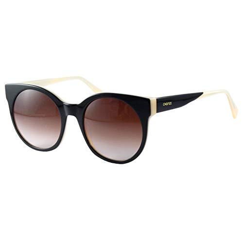 CHANCE - CLEO gafas de sol para mujer - Edición Limitada (Negro y crema, Marrón)