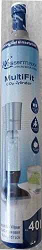 Wassermaxx 40 Liter Stahl Zylinder - gefüllt