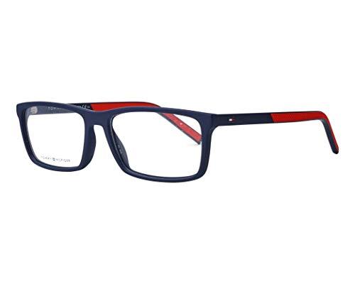 Tommy Hilfiger Brille (TH-1591 FLL) Acetate Kunststoff matt blau - matt rot