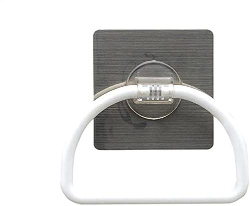 Toallero de baño para colgar toallas de baño, sin costuras, resistente, gancho para toalla de baño, resistente