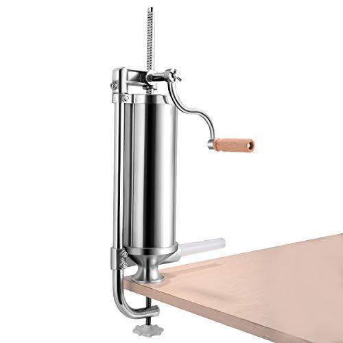 GOFLAME 3L Vertical Sausage Stuffer Maker for Home Resturant...