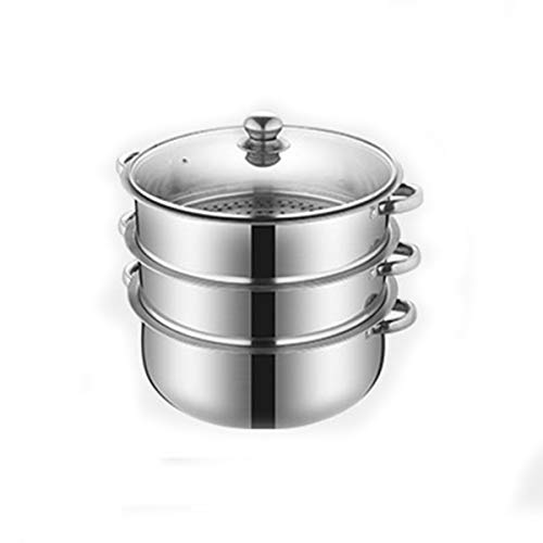 Buy Discount Tongboshi Household stainless steel steamer, large capacity, thick and durable, conveni...