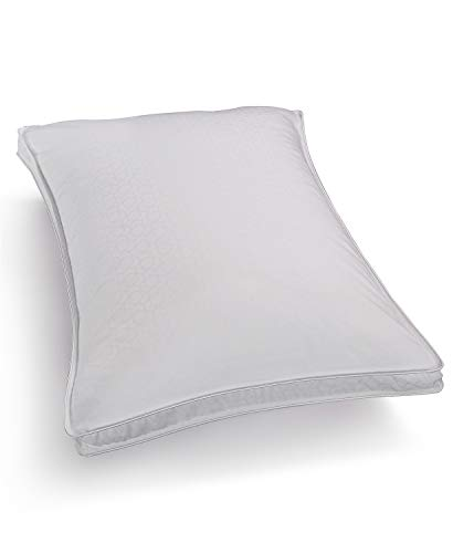 Hotel Collection Primaloft Silver Series Medium Support Down Alternative Standard Queen Pillow for Back Sleepers