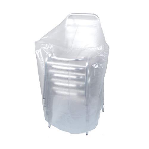 Ribiland 07355 - Housse Transparente pour Chaise - 70 X 70 X 110 cm - Résistante aux UV - Grammage de 90g/m²